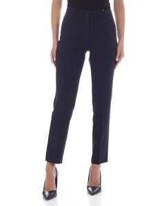 Tommy Hilfiger - Poly stretch pants in blue
