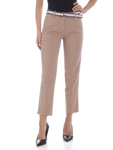 Tommy Hilfiger - Dobby pants in light brown