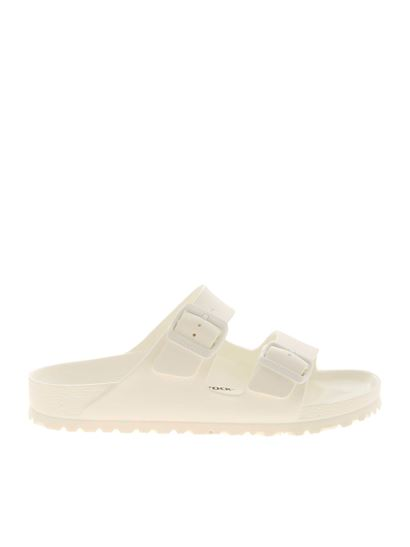 Birkenstock - Arizona EVA sandals in white