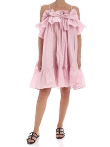 MSGM - Curled dress in pink