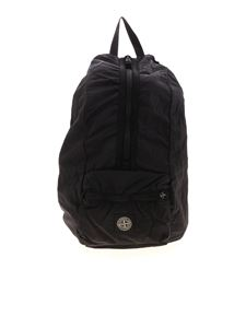 Stone Island - Packable backpack in dark blue
