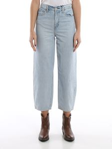 Levi's - Balloon leg high rise jeans in light blue