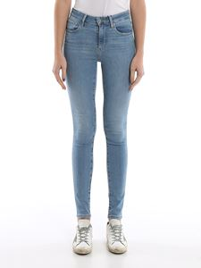 Levi's - 721 denim in faded blue
