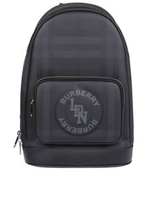 Burberry - Rocco backpack in Dark Charcoal color