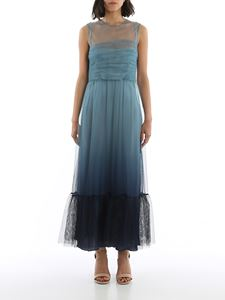 Red Valentino - Degradé dress in Powder Blue