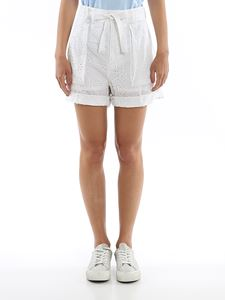 POLO Ralph Lauren - Broderie anglaise shorts in white