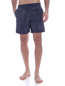 Stone Island - Spots of color swim trunks in blue