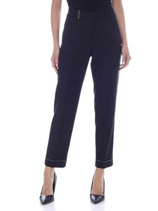 Peserico - Stretch pants in blue