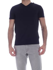 Ballantyne - Basic T-shirt in blue