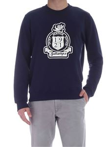 Ballantyne - Logo sweatshirt in blue