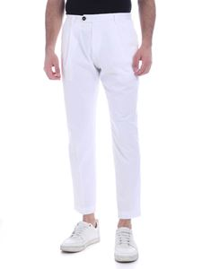 Ballantyne - Pants in white with pleats