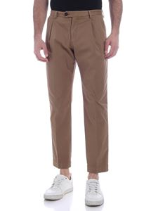 Ballantyne - Pants in brown with pleats