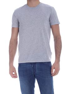 Ballantyne - Basic T-shirt in melange grey