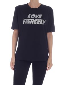 Chiara Ferragni - Love Fiercely T-shirt in black