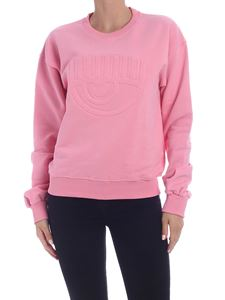 Chiara Ferragni - Sweatshirt with Eye logo in pink