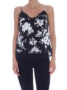 Michael Kors - Floral Lace top in black