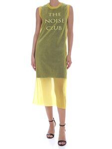 McQ Alexander Mcqueen - The Noise Club dress in yellow