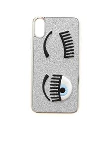 Chiara Ferragni - Flirting I-Phone X / XS cover in silver color