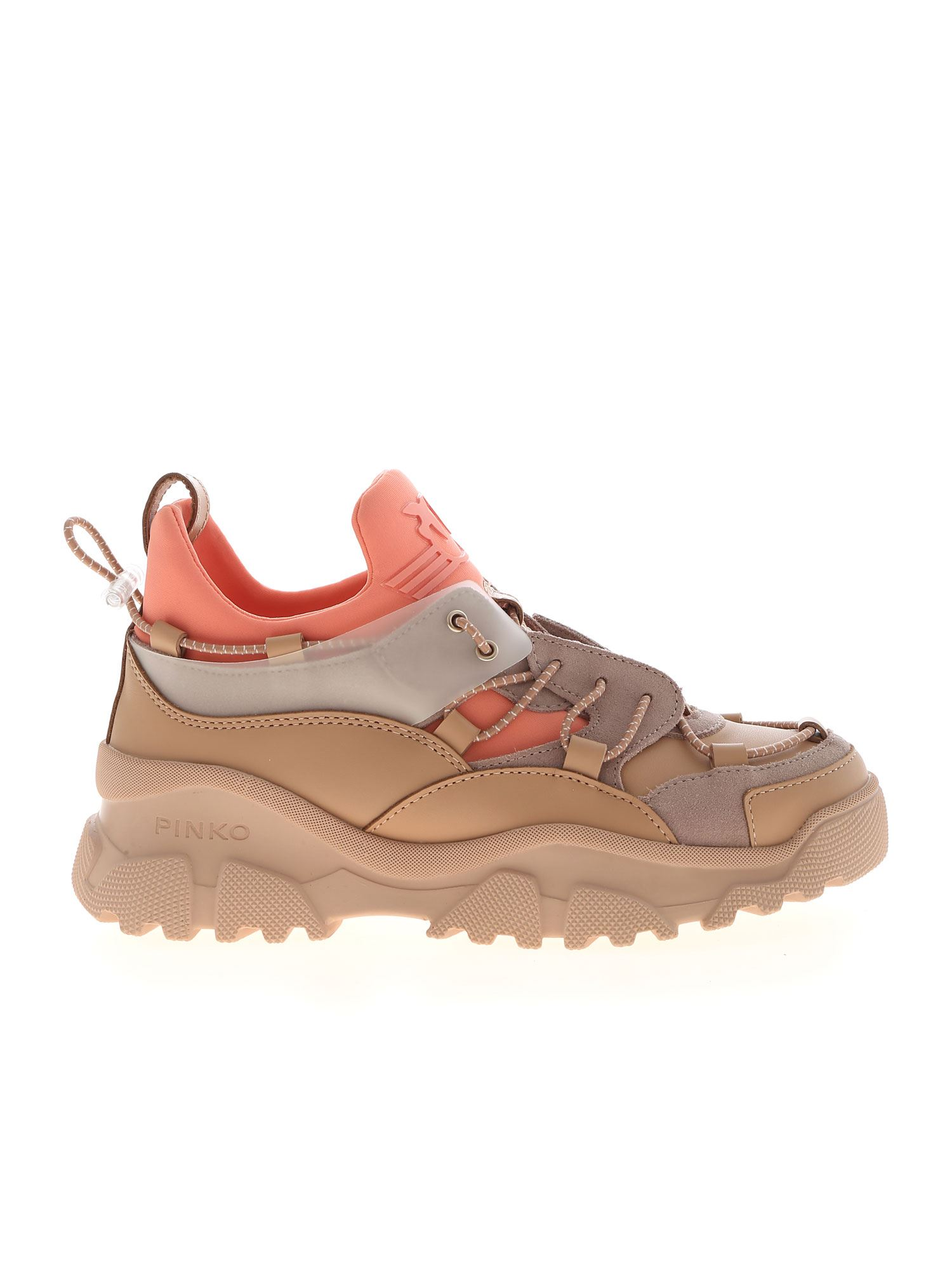 Pinko PINKO CUMINO SNEAKERS IN SHADES OF PINK