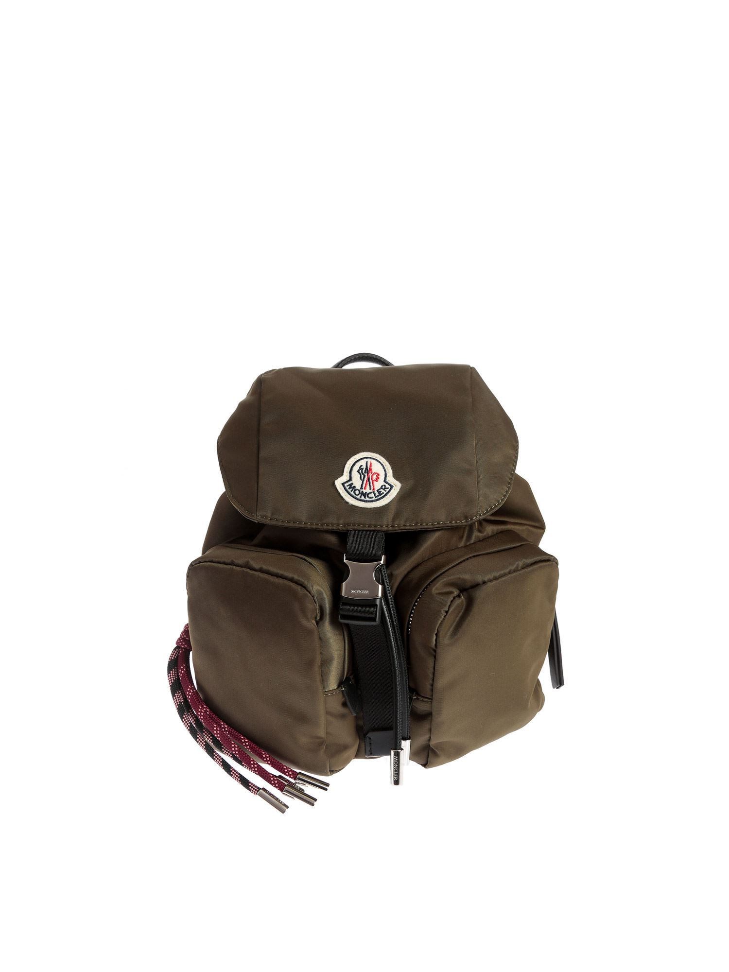 Moncler SMALL DAUPHINE BACKPACK IN ARMY GREEN