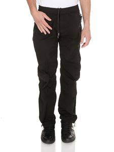 Moncler - Sporty pants in black with logo