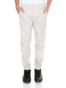 Fay - Chinos in ivory color
