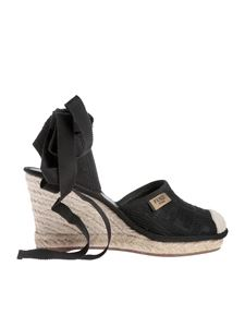 Fendi - Fendi Roma espadrilles in black