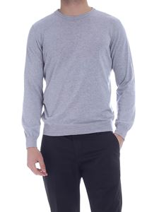 Kangra Cashmere - Crew neck pullover in gray