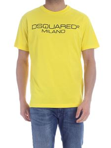 Dsquared2 - Dsquared2 Milano T-shirt in yellow