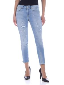 Dondup - Newdia jeans in light blue
