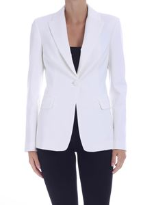 Pinko - Sigma single-breasted jacket in white