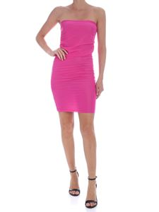 Pinko - Megaloman dress in fuchsia