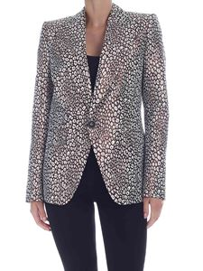 Dsquared2 - Animal print jacket in brown