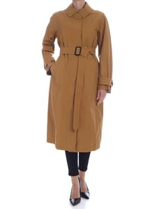 Max Mara - Atrench trench coat camel color