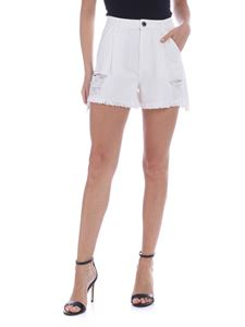 Pinko - Ollie shorts in white
