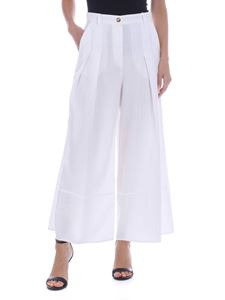 Pinko - Buck pants in white