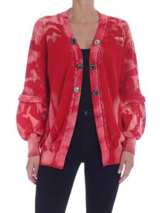 Pinko - Samoa cardigan in Red and pink