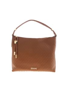 Michael Kors - Borsa a spalla Lexington marrone