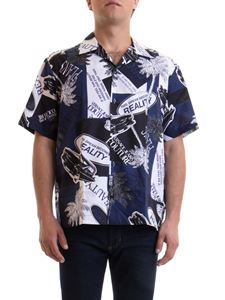 Versace Jeans Couture - Printed short sleeve shirt