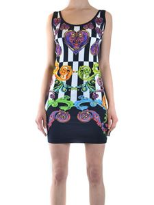 Versace Jeans Couture - Baroque print sheath dress