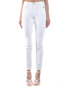 Versace Jeans Couture - Mid rise skinny jeans in white