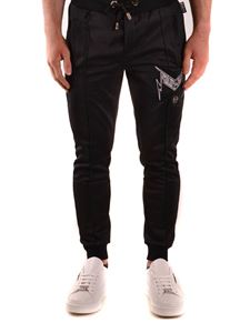 Philipp Plein - Thunder track pants in black