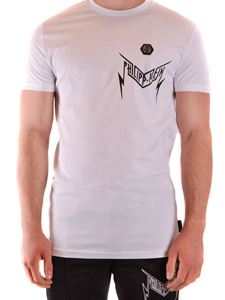 Philipp Plein - Thunder cotton T-shirt in white