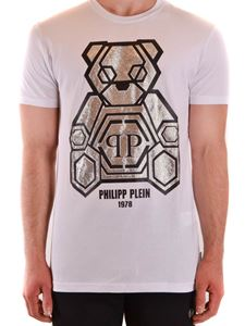 Philipp Plein - Bear T-shirt in white
