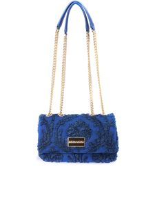 Ermanno by Ermanno Scervino - Embroidered shoulder bag in blue