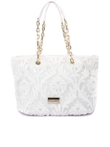 Ermanno by Ermanno Scervino - Embroidered tote in white