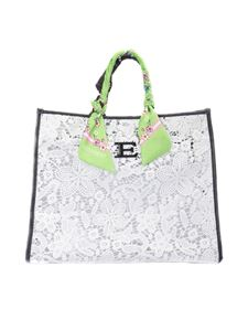 Ermanno by Ermanno Scervino - Macramé tote with scarf handles