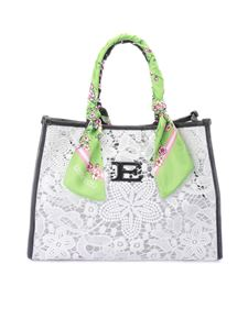 Ermanno by Ermanno Scervino - Macramé bag with scarf handles