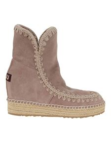 Mou - Eskimo suede ankle boots in brown