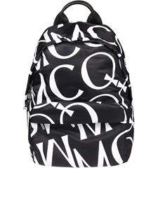 McQ Alexander Mcqueen - MCQ black and white nylon backpack